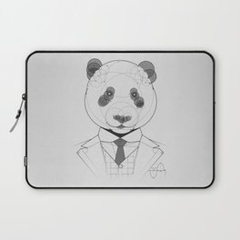 Geometric Panda Laptop Sleeve
