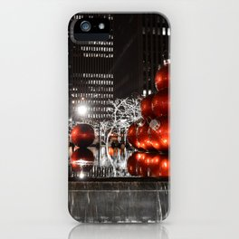 NYC Christmas iPhone Case
