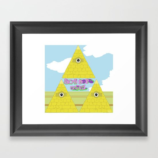 Watch The Tomb Framed Art Print