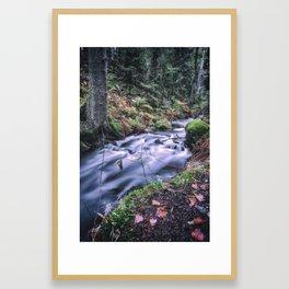 The Magic Ravine Framed Art Print