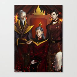 Fire Lords Canvas Print