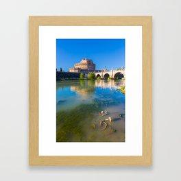 Castel Sant'Angelo - Rome Framed Art Print