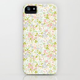 Flowery Garden iPhone Case