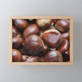 Sweet chestnuts Framed Mini Art Print