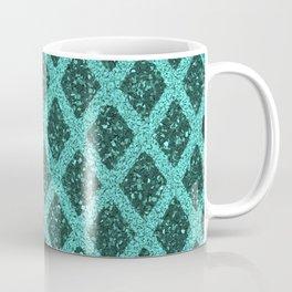 emerald rhombus Coffee Mug