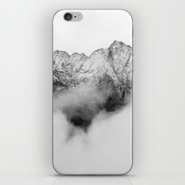 Peaks on the Mist iPhone Skin