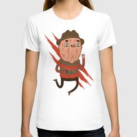 freddy krueger T-shirts featuring Freddy by Daniel Mackey