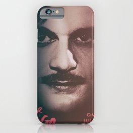 Doctor Zhivago, minimalist movie poster, David Lean film,Omar Sharif, Boris Pasternak, book cover iPhone Case