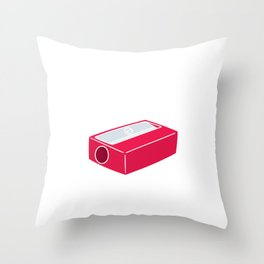 Teacher Stay Sharp Sharpener School Supplies Puns Student Gift Throw Pillow