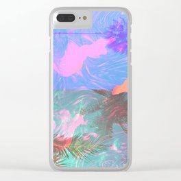 BURNING Clear iPhone Case