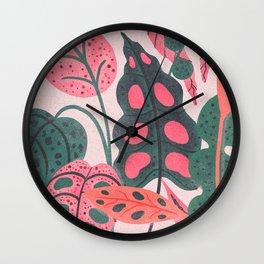PLANTS Wall Clock