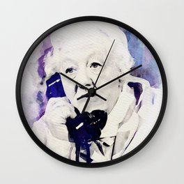 Margaret Rutherford Wall Clock