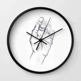 My Left Hand Wall Clock