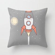Bottle Rocket Throw Pillow