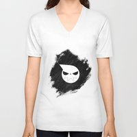 soul eater V-neck T-shirts featuring Soul Eater by Bradley Bailey