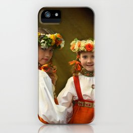Dancing queens iPhone Case