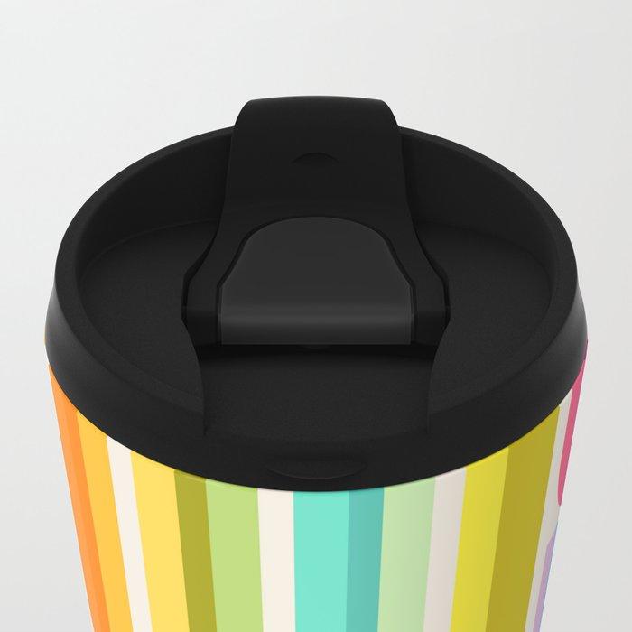 Test Tube Tune Metal Travel Mug