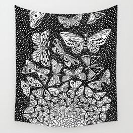 Escher - Butterflies Tessellation Wall Tapestry