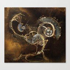 The Clockwork Music - fig.1 Canvas Print