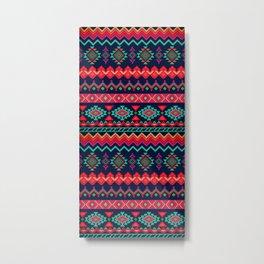 Aztec Pattern 2 Metal Print