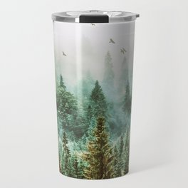 Green Forest Travel Mug