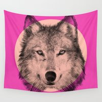 eric fan Wall Tapestries featuring Wild 7 - by Eric Fan and Garima Dhawan by Eric Fan