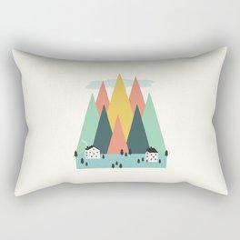 The High Mountains Rectangular Pillow