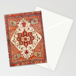 Serapi Azerbaijan Northwest Persian Rug Print Stationery Cards