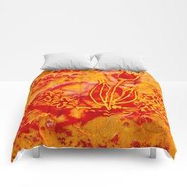 Happy flower Comforters