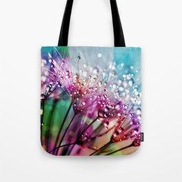 Dewdrops & Rainbows Tote Bag