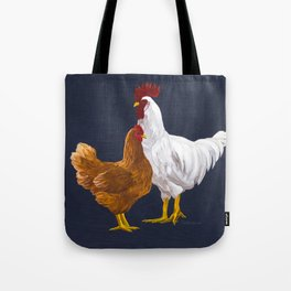 Backyard Chickens Tote Bag