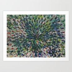RGB Colorwheel Art Print