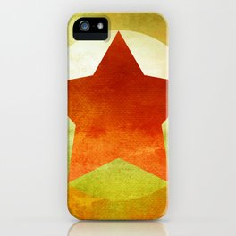 Star Composition VI iPhone Case