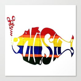 phish band logo Canvas Print