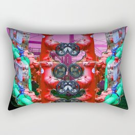Vertebrae Rectangular Pillow