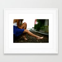 heels Framed Art Prints featuring Heels. by Medium