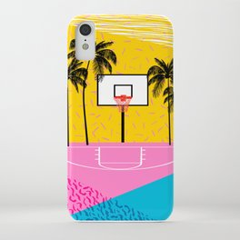Dope - memphis retro vibes basketball sports athlete 80s throwback vintage style 1980's iPhone Case