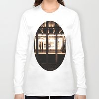 rush Long Sleeve T-shirts featuring Rush Hour by Brown Eyed Lady