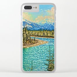 A Majestic View Clear iPhone Case
