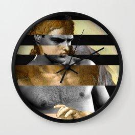Michelangelo's Christ & Marlon Brando Wall Clock