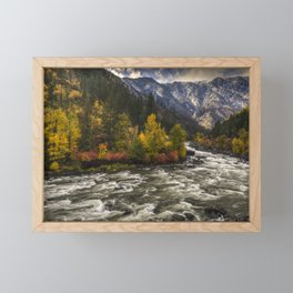 The Leavenworth Bend Framed Mini Art Print