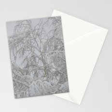 Snowy Tree 2 Stationery Cards