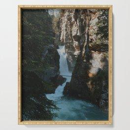 Blue Canyon Falls Serving Tray