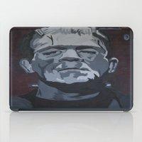 frankenstein iPad Cases featuring Frankenstein by Paintings That Pop