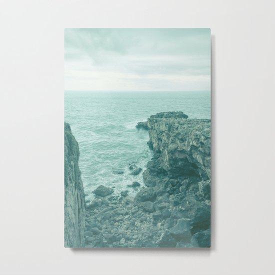 Blue Cove Metal Print