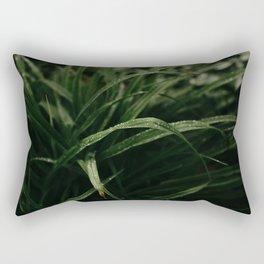 Rain on Grass Rectangular Pillow
