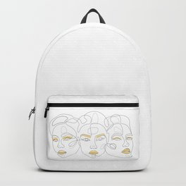 Lemon Portraits Backpack