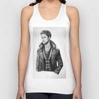 hook Tank Tops featuring Captain Hook by Olivia Nicholls-Bates