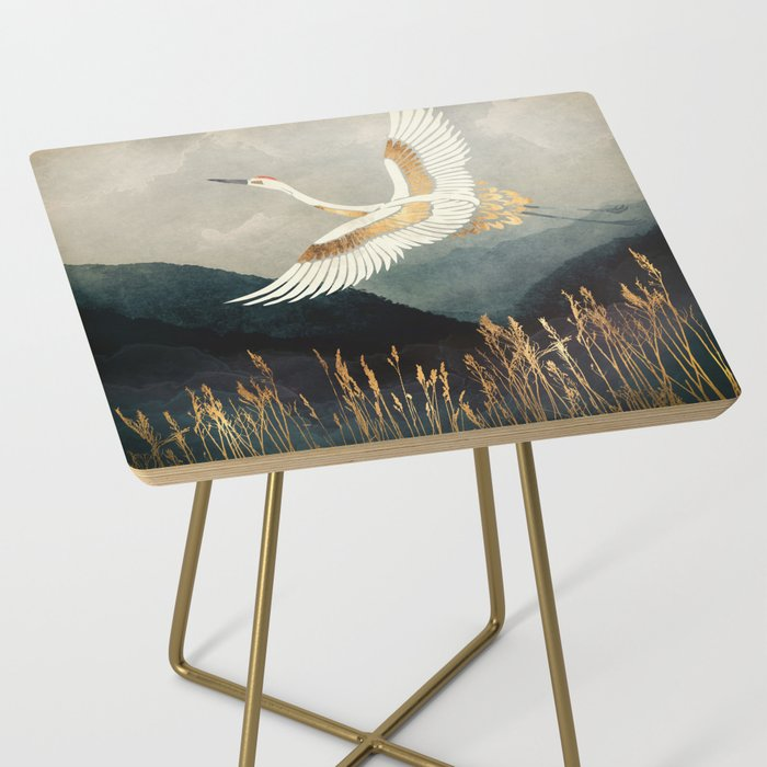 Elegant Flight Side Table