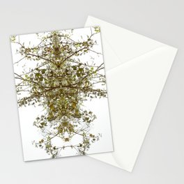 Mirrored Trees 6 Stationery Cards